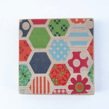 Load image into Gallery viewer, Modern Retro Wooden Coasters ***REDUCED***