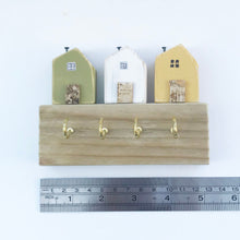 Load image into Gallery viewer, Tiny House Key Holder for Wall