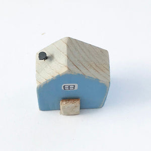 Blue Tiny House Magnet