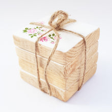 Load image into Gallery viewer, Pallet Wood Coaster Set ***REDUCED***