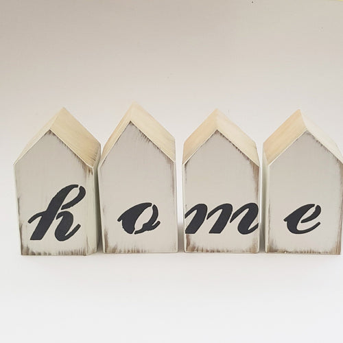 Wooden Letter Blocks HOME
