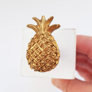 Wooden Pineapple Door Stopper