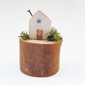 Miniature Wooden House