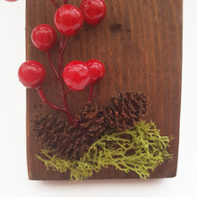 Load image into Gallery viewer, Wooden Christmas Sign Wall Decor