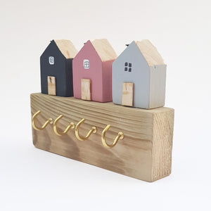 Decorative Wooden Key Holder