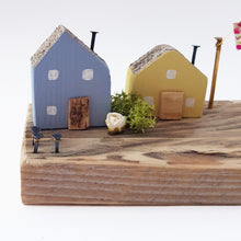 Load image into Gallery viewer, Miniature Wooden Houses Diorama Ornaments for Shelf