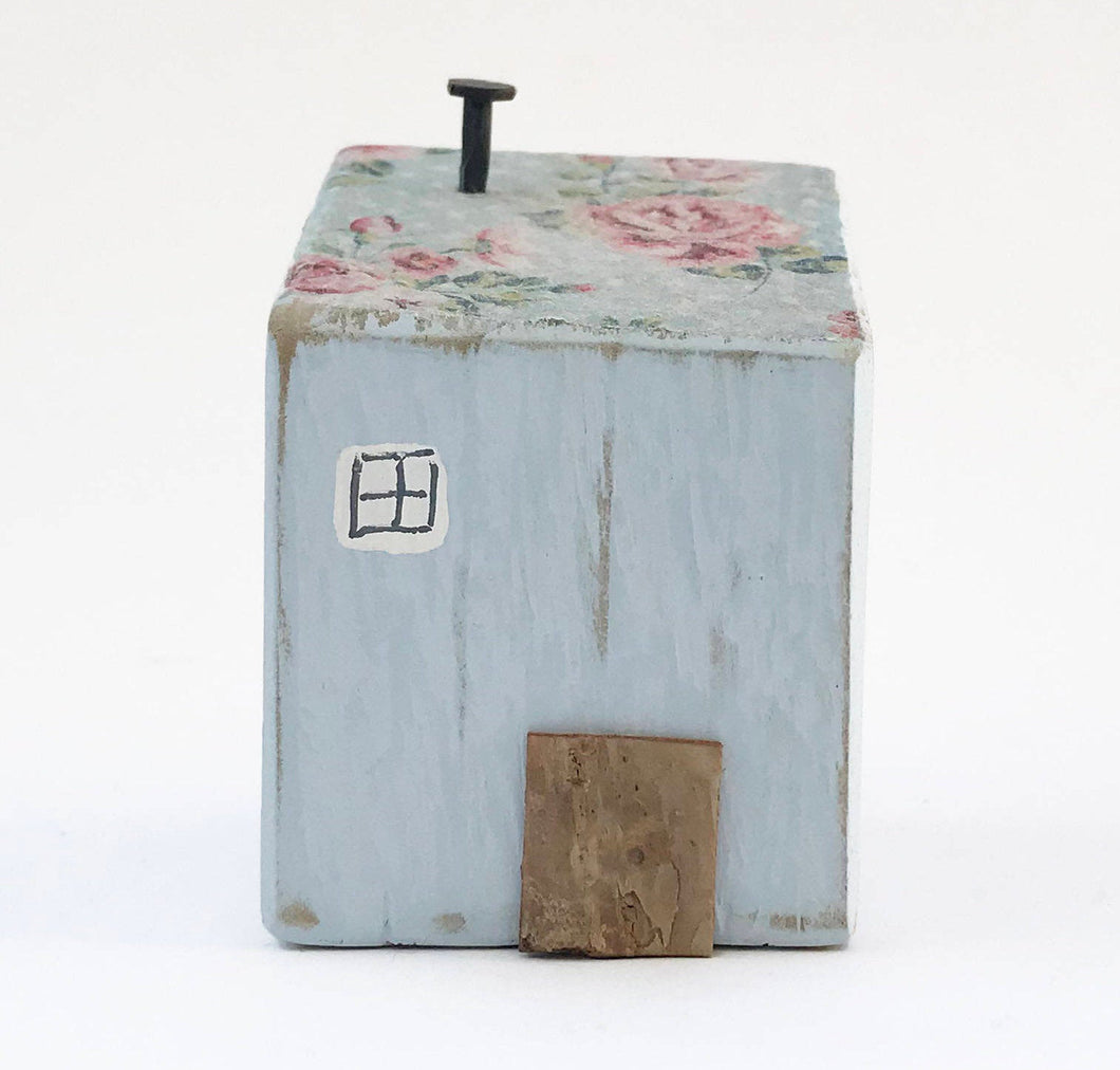 Decoupage Wood House Houses for Decor Wooden Gifts