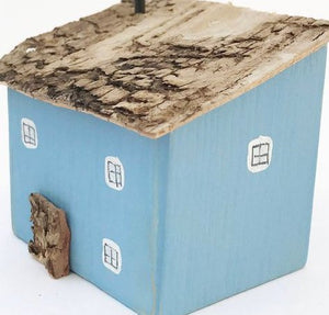 Blue Wooden Mini House