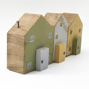Cottage Houses Wooden Houses Decor Cottage Gifts Shelf Decor