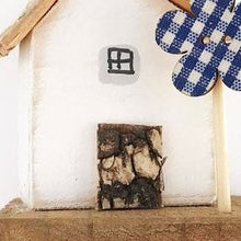 Load image into Gallery viewer, Tiny Wooden House Ornament