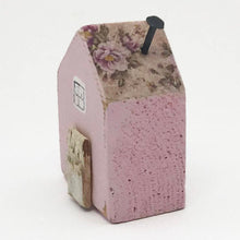 Load image into Gallery viewer, Tiny Wooden House - Pink Floral