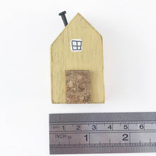 Load image into Gallery viewer, Yellow Tiny House Ornament