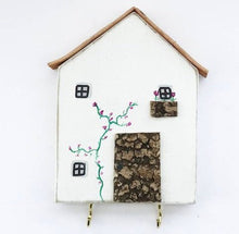 Load image into Gallery viewer, Wooden Cottage Key Holder
