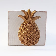 Load image into Gallery viewer, Wooden Pineapple Door Stopper