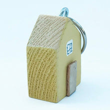 Load image into Gallery viewer, Tiny Yellow House Keyring