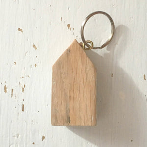 House Keychain Grey Key Ring Keychains for Women