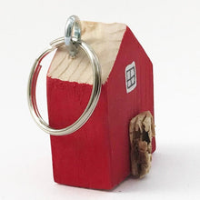 Load image into Gallery viewer, House Key Fob Red Small Gifts