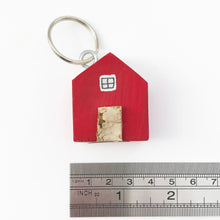 Load image into Gallery viewer, Red House Key Ring