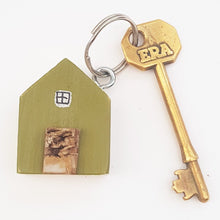 Load image into Gallery viewer, Green House Key Chain