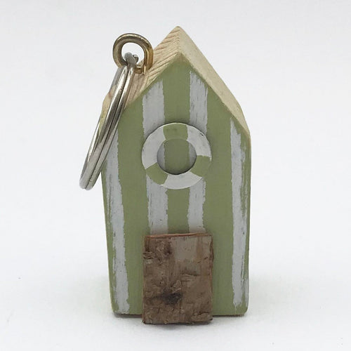 Wood Key Ring Beach Hut