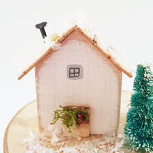Load image into Gallery viewer, Wood Christmas House