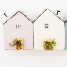 Load image into Gallery viewer, Little Wooden Houses for Christmas