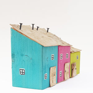 Wooden Houses Garden Decor Garden Gift
