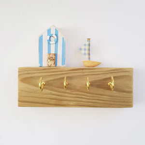Nautical Decor Key Rack