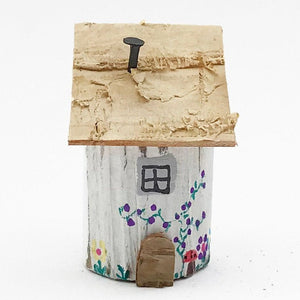 Wooden Fairy House Tiny Gifts
