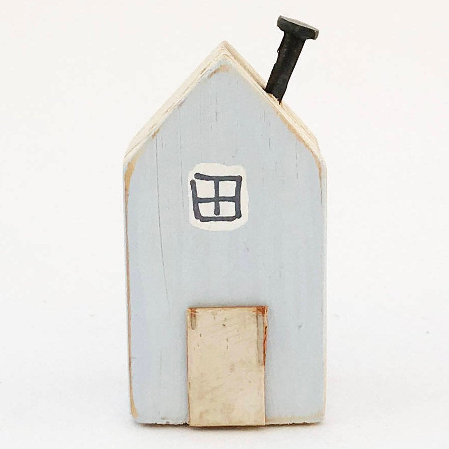 Wooden Fridge Magnet Small Wooden Houses Kitchen Magnets