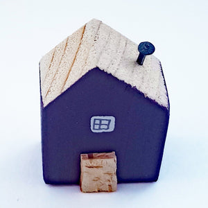 Wooden Mini House Tiny House Decor