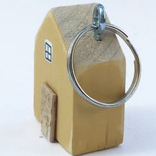 Load image into Gallery viewer, Handmade House Keyring
