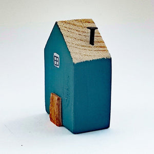 Fridge Magnet Little Wooden Houses Magnet Wood Kitchen Decor