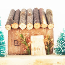 Load image into Gallery viewer, Miniature Wooden Christmas House