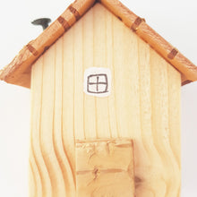 Load image into Gallery viewer, Natural Wood Mini House