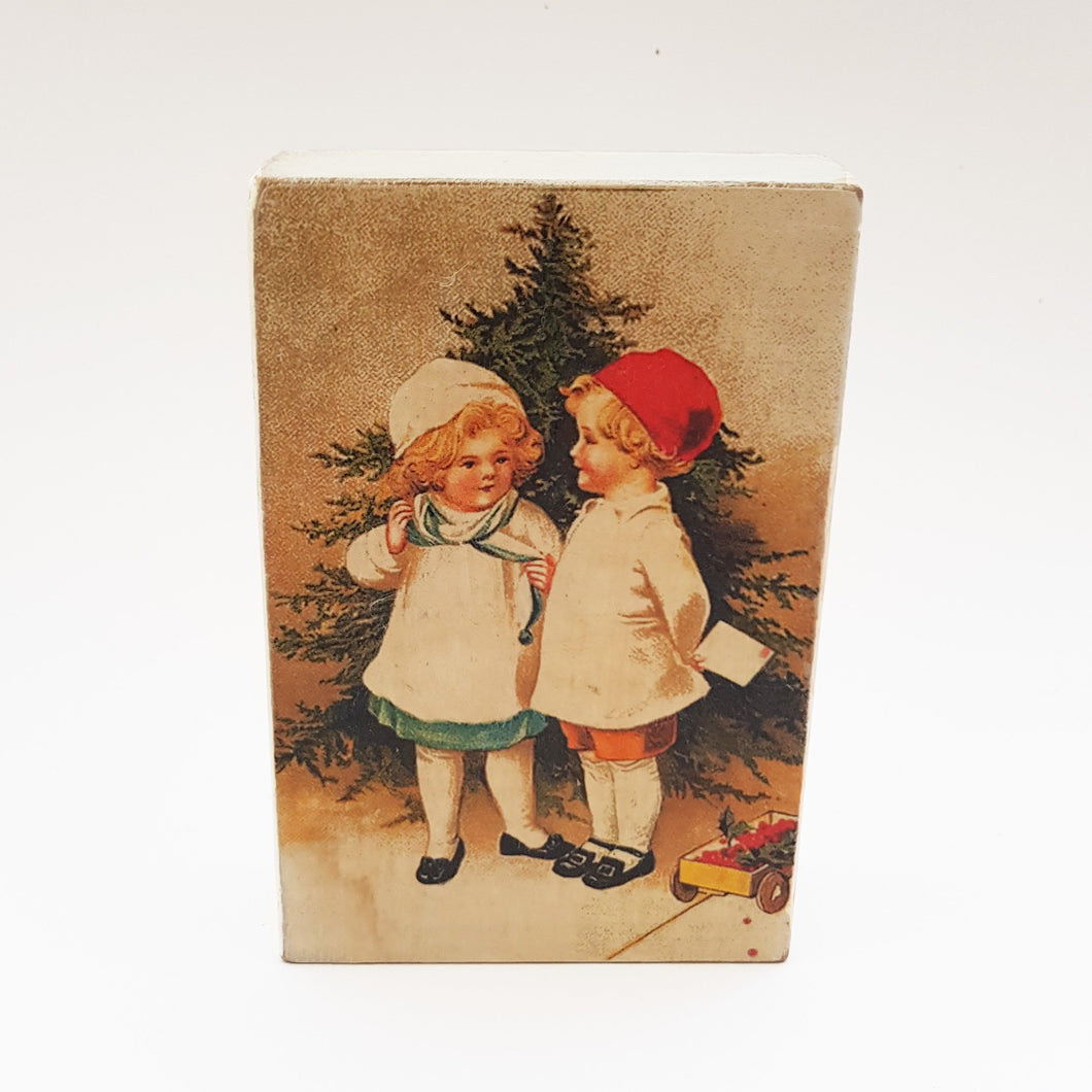 Christmas Picture on Wood