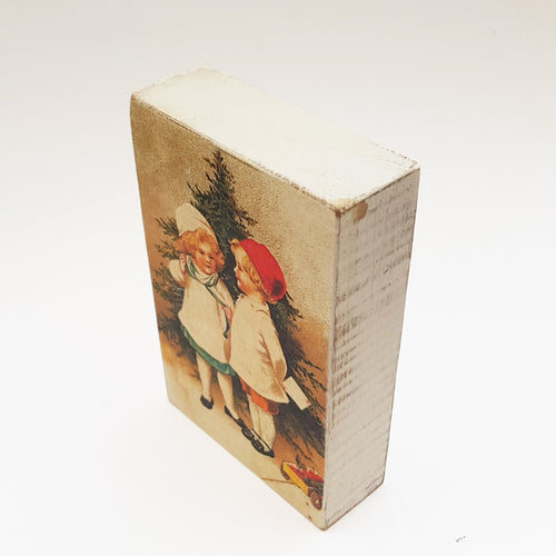Traditional Christmas Decorations Wood Block Ornament Christmas Pictures