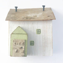 Load image into Gallery viewer, Rustic Wood Cottage Ornament Wooden Houses