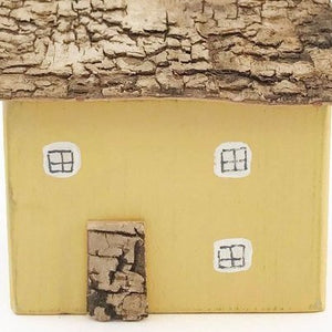 Yellow Decorative Wooden House
