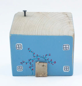 Small Wooden Cottage 5th Anniversary Gift Housewarming Gift