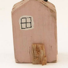 Load image into Gallery viewer, Handmade Tiny Pink House