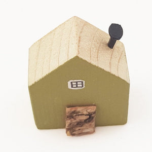 Little House Wood Ornament
