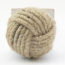 Load image into Gallery viewer, Nautical Rope Knot Door Stopper