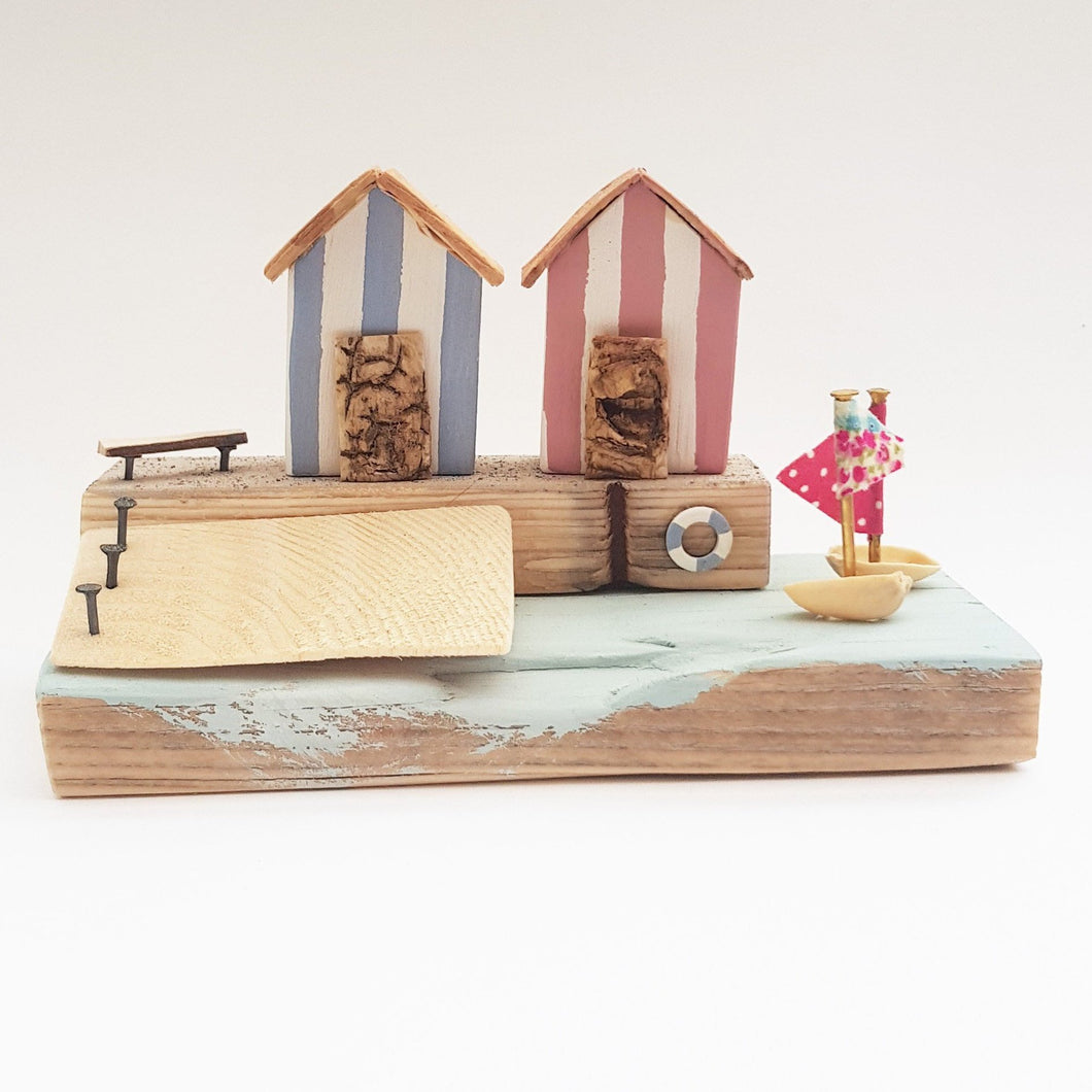 Wooden Beach Hut