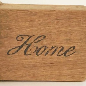 Wood Home Decorative Word Block