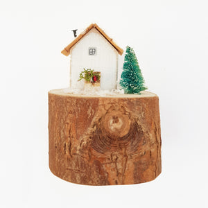 Wood Christmas House