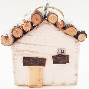 Christmas Cottage Tree Decoration