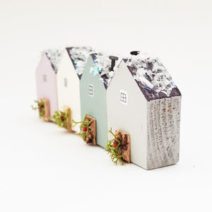 Little Wooden Houses for Christmas