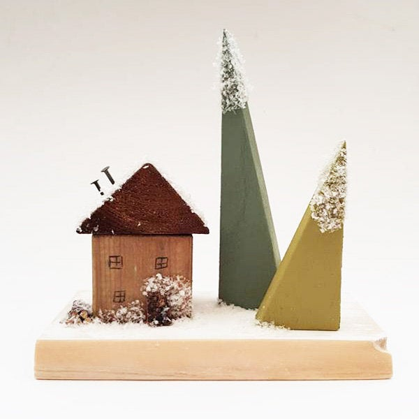 Wooden Christmas Scene Rustic Holiday Decor Christmas Decorations Rustic Wooden Christmas Decorations Modern Christmas Wooden Ornaments