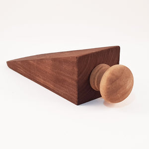 Rustic Natural Wood Door Stop